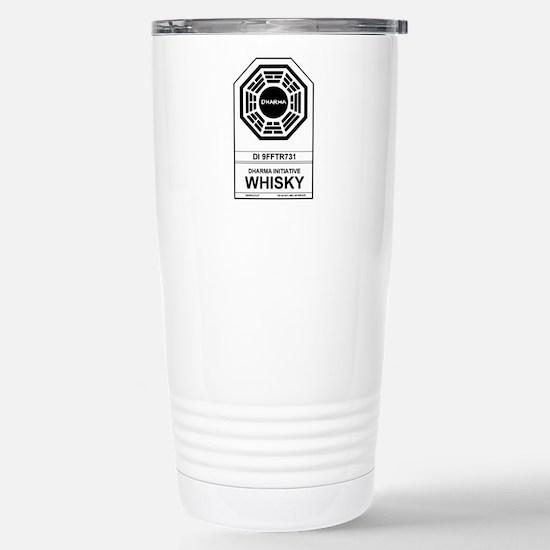 Dharma Whisky Stainless Steel Travel Mug