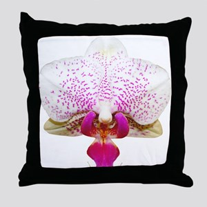 Orchid Lover Throw Pillow