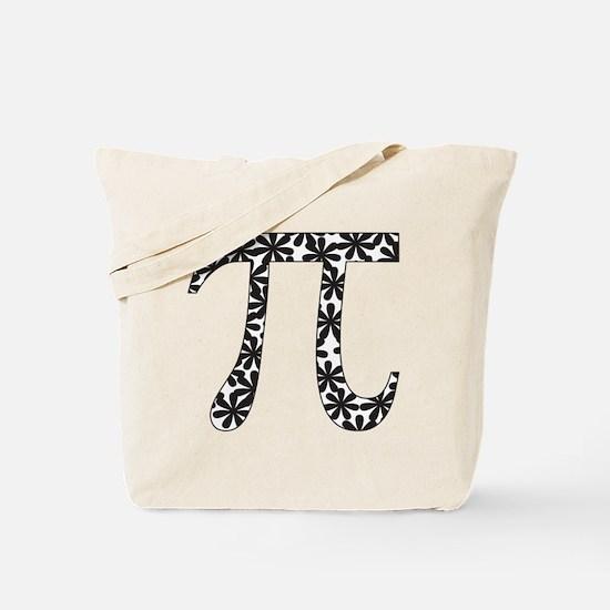 Floral Pi Tote Bag