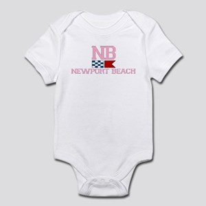 Newport Beach RI - Nautical Design Infant Bodysuit
