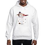 Boston Girl Martini Hooded Sweatshirt