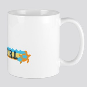 Newport Beach RI - Beach Design Mug