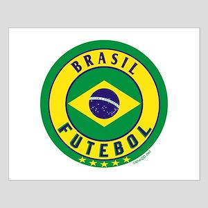 Brasil Futebol/Brazil Soccer Small Poster