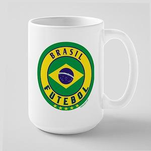 Brasil Futebol/Brazil Soccer Large Mug