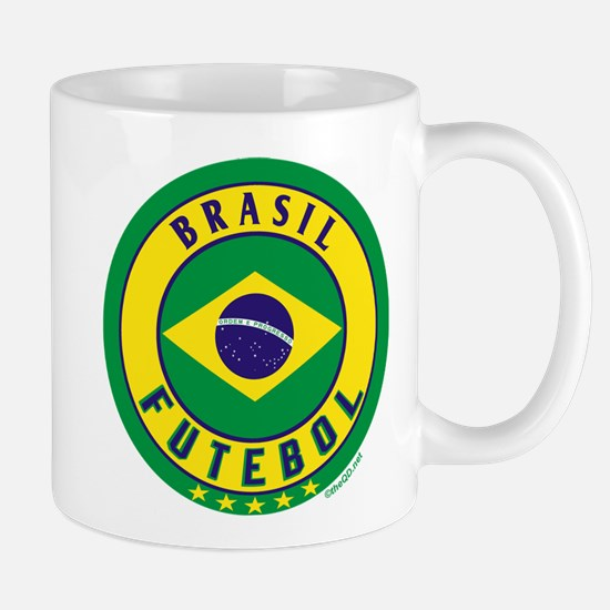 Brasil Futebol/Brazil Soccer Mug
