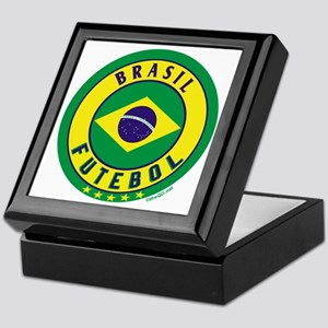 Brasil Futebol/Brazil Soccer Keepsake Box
