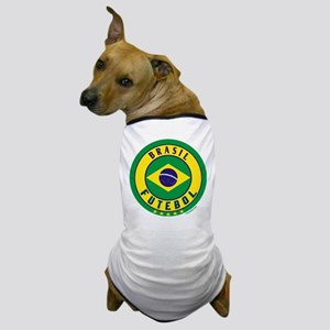 Brasil Futebol/Brazil Soccer Dog T-Shirt
