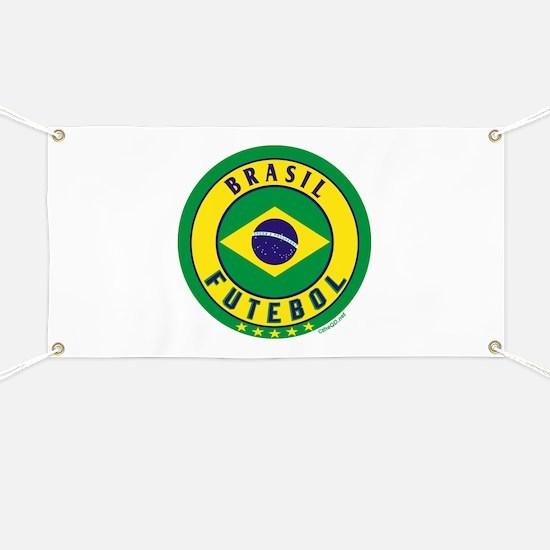 Brasil Futebol/Brazil Soccer Banner