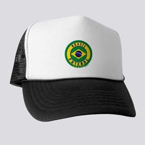 Brasil Futebol/Brazil Soccer Trucker Hat