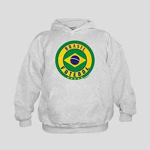 Brasil Futebol/Brazil Soccer Kids Hoodie