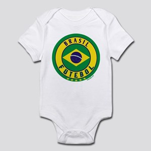 Brasil Futebol/Brazil Soccer Infant Bodysuit