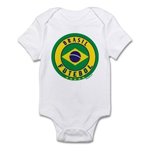 5f3b0f08346 Brazil Soccer Baby Clothes   Accessories - CafePress