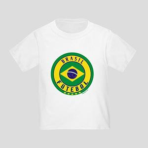 Brasil Futebol/Brazil Soccer Toddler T-Shirt