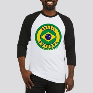 Brasil Futebol/Brazil Soccer Baseball Jersey