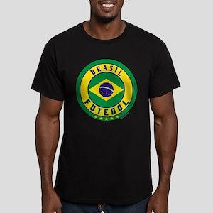 Brasil Futebol/Brazil Soccer Men's Fitted T-Shirt