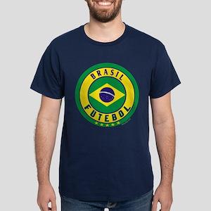 Brasil Futebol/Brazil Soccer Dark T-Shirt