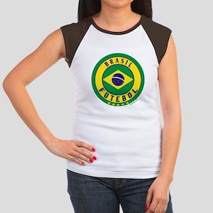 7aa35751ba5 Brazil Soccer Women s Cap Sleeve T-Shirts - CafePress