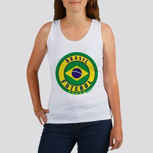 Brasil Futebol/Brazil Soccer Women's Tank Top