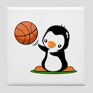 I Like Basketball Tile Coaster
