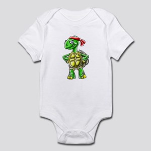 Ninja Turtle Tortoise Infant Bodysuit