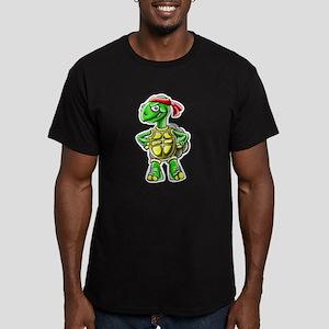 Ninja Turtle Tortoise Men's Fitted T-Shirt (dark)