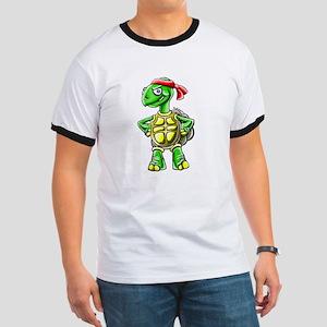 Ninja Turtle Tortoise Ringer T