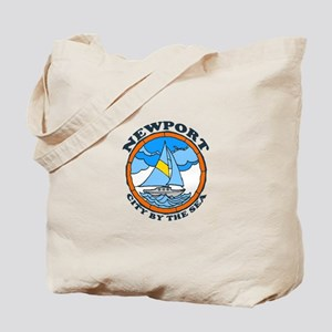 Newport Beach RI - Sailing Design Tote Bag