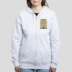 What is a Veteran Women's Zip Hoodie