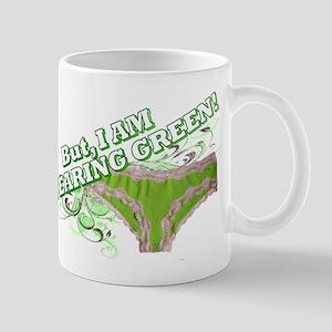 green underware ladies Mug