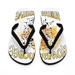 New Tiger PNG Flip Flops