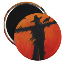 Scarecrow at Dusk - Magnet