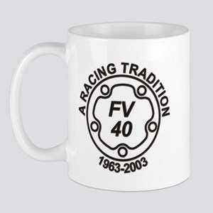 FV 40th Birthday Mug
