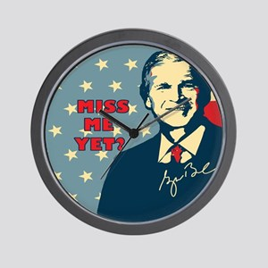 Miss Me Yet Wall Clock
