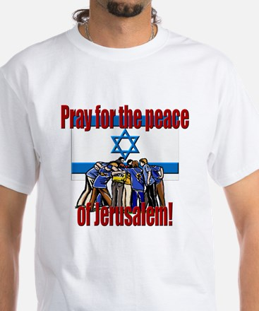 Peace of Jerusalem! White T-Shirt