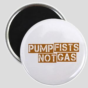 Pump Fists Not Gas Magnet