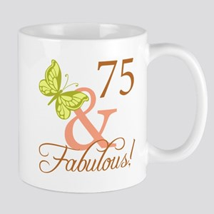75 & Fabulous (Autumn) Mug