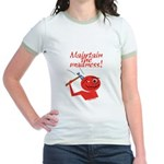 Maintain the Madness Jr. Ringer T-Shirt