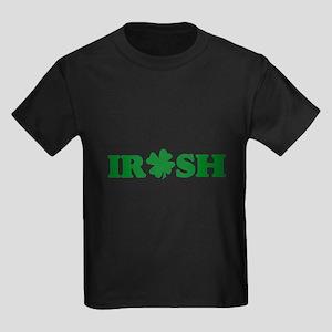 Irish Shamrock Kids Dark T-Shirt