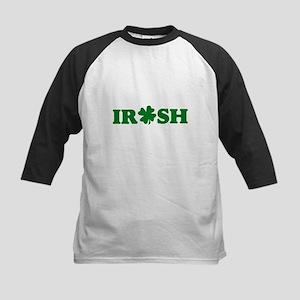 Irish Shamrock Kids Baseball Jersey