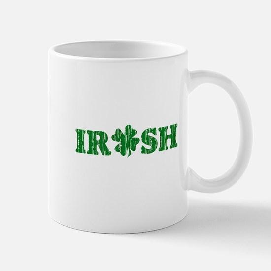 Vintage Irish Shamrock Mug