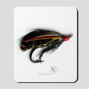 English Salmon Fly Mousepad