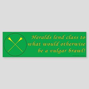 Heralds lend Class Sticker (Bumper)