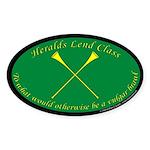 Heralds lend Class Sticker (Oval 50 pk)