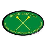 Heralds lend Class Sticker (Oval 10 pk)