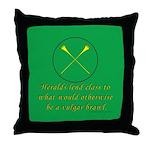 Heralds lend Class Throw Pillow