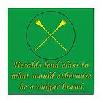 Heralds lend Class Tile Coaster
