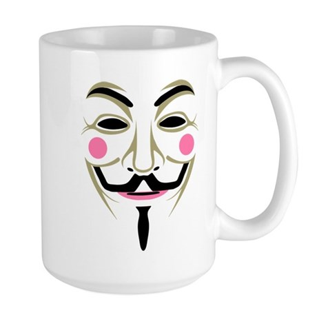 Guy Fawkes Large Mug
