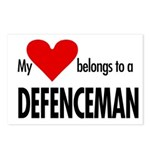 My heart, defenceman Postcards (Package of 8)