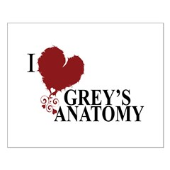 I Love Grey's Anatomy Posters