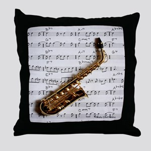 Just One Note Throw Pillow
